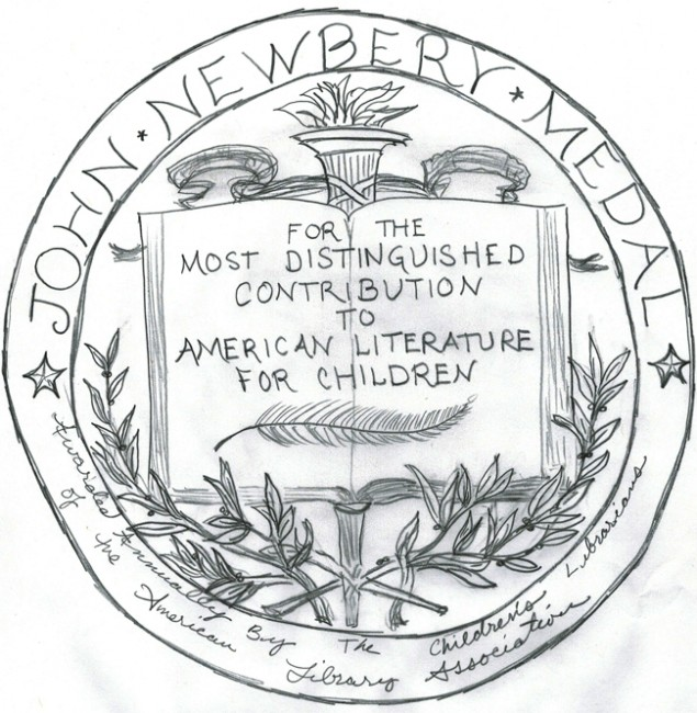 newbery medal drawing