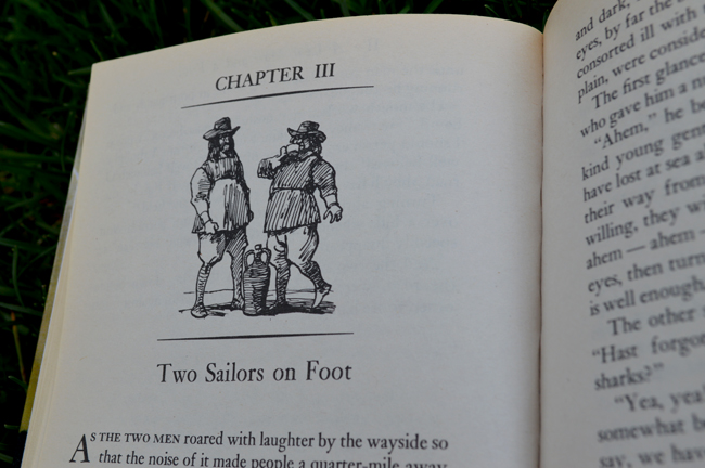 two saliors on foot, chapter 3