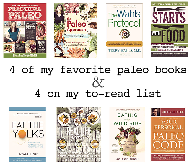 4 favorite paleo books