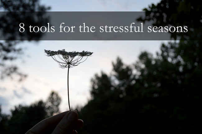 8 Tools for the Stressful Seasons