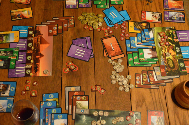 7 wonders game night