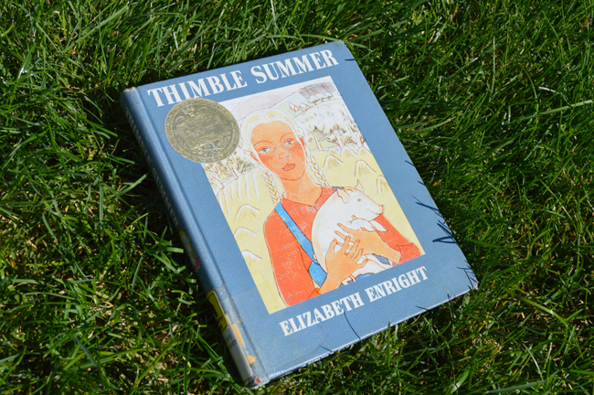 Elizabeth Enright Thimble Summer Cover