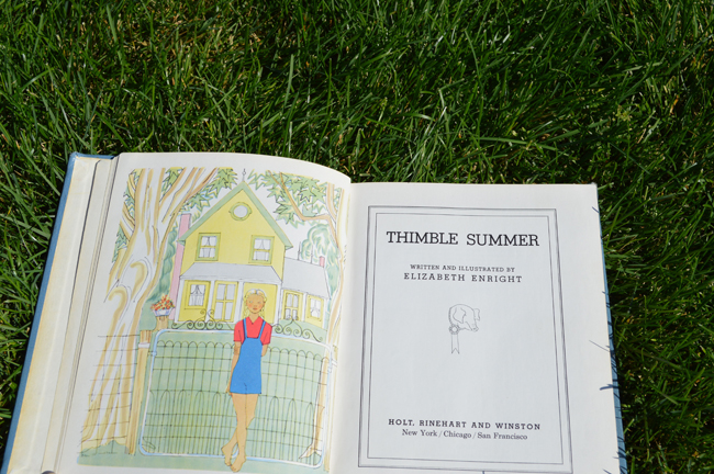 Elizabeth Enright Thimble Summer Coverpage