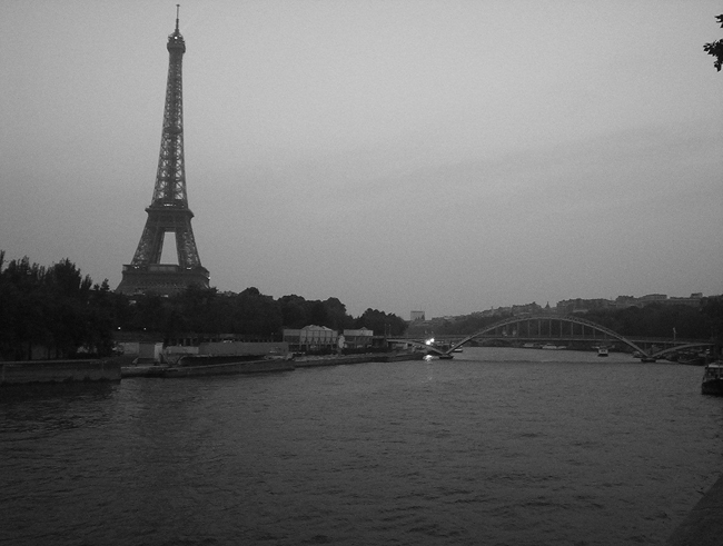 The Seine and Eiffel