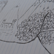 drawing pictures forst castle