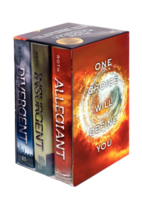 Divergent Series- Divergent, Insurgent, and Allegiant by Veronica Roth