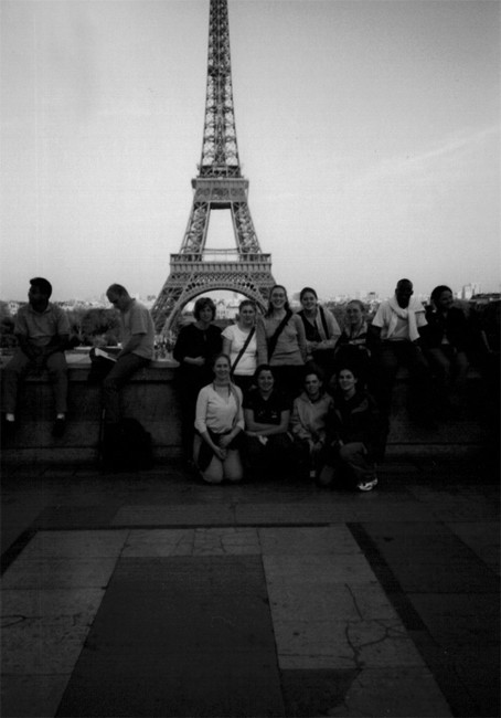 French Class and Eiffle Tower