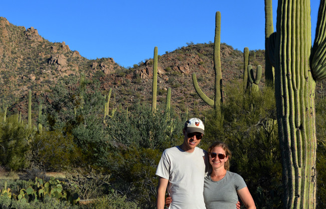 evan and amy in arizona