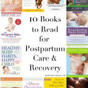 10 books to read for postpartum care and recovery