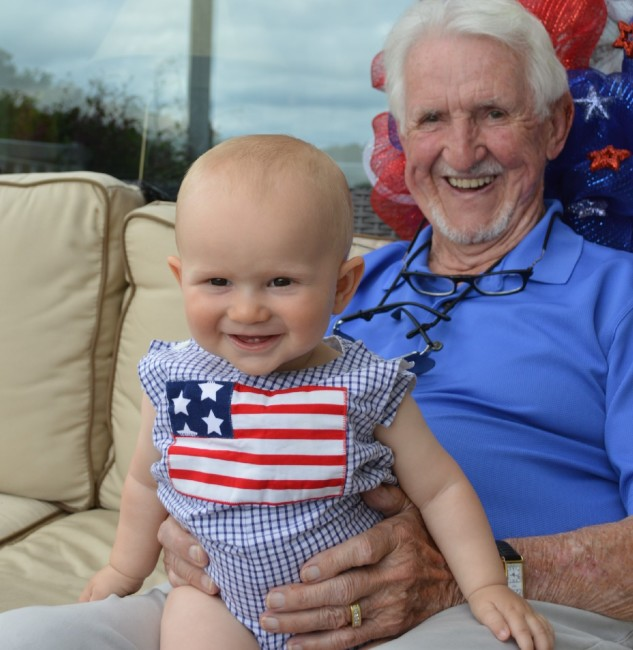 Grandpa Denny and Jackson