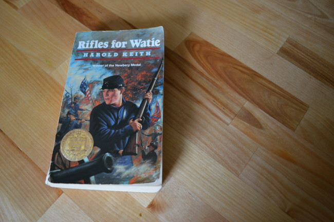 Rifles for Watie Cover